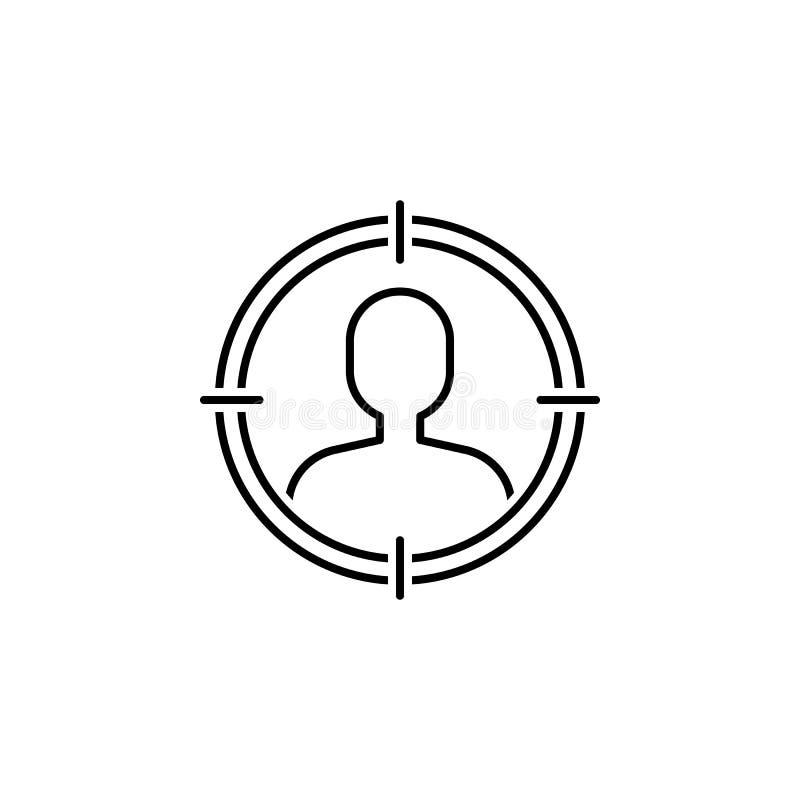 seo di affari, linea di selezione icona Lavoro di squadra all'idea I segni ed i simboli possono essere usati per il web, logo, ap illustrazione di stock