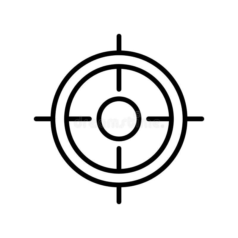 Seo en Webpictogram vectordieteken en symbool op witte backgr wordt geïsoleerd stock illustratie