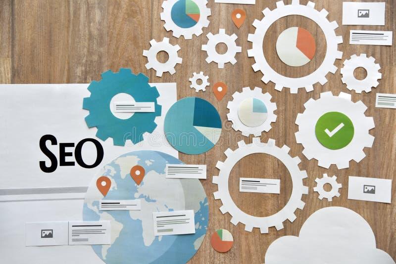 SEO et développement de Web photos libres de droits