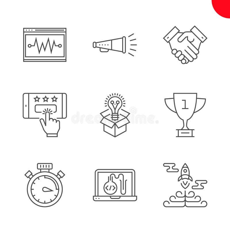 Seo et opimization de Web illustration de vecteur