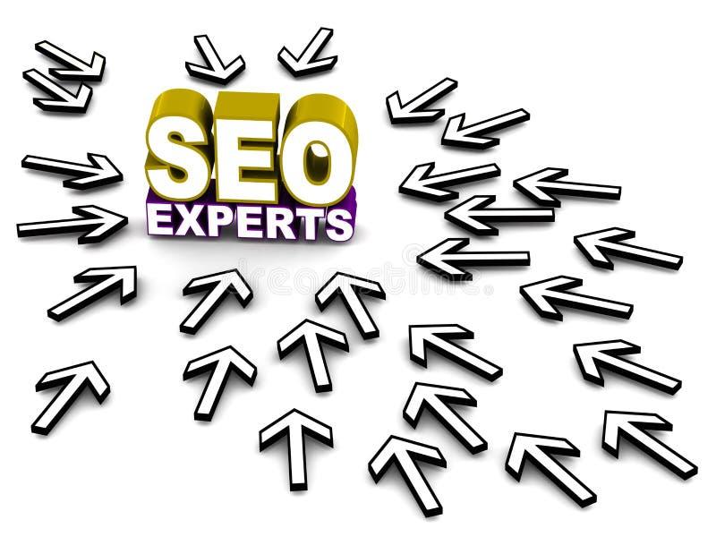 Download Seo experts stock illustration. Illustration of visits - 31311299