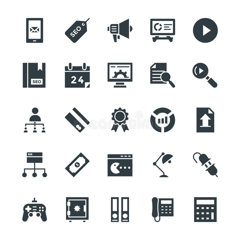 SEO and Internet Marketing Cool Vector Icons 4. Here is an awesome set of SEO and Internet Marketing Vector Icons that is useful for the marketing and promotion vector illustration