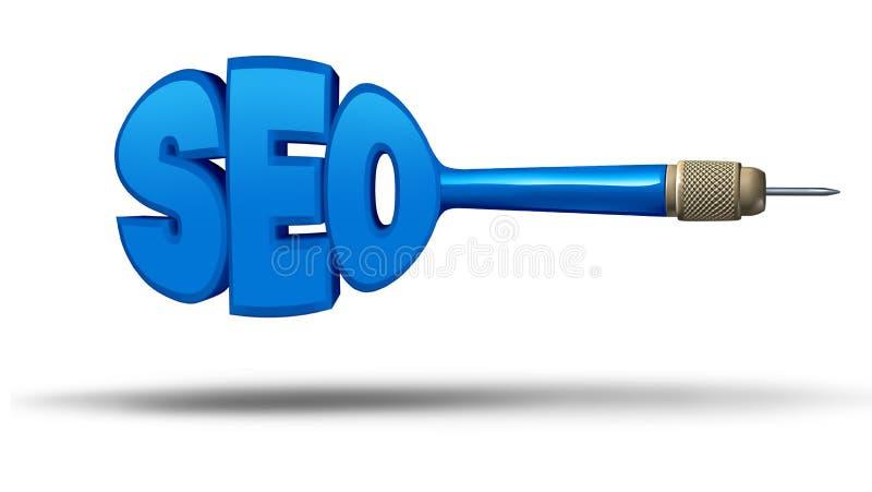 SEO Marketing lizenzfreie abbildung