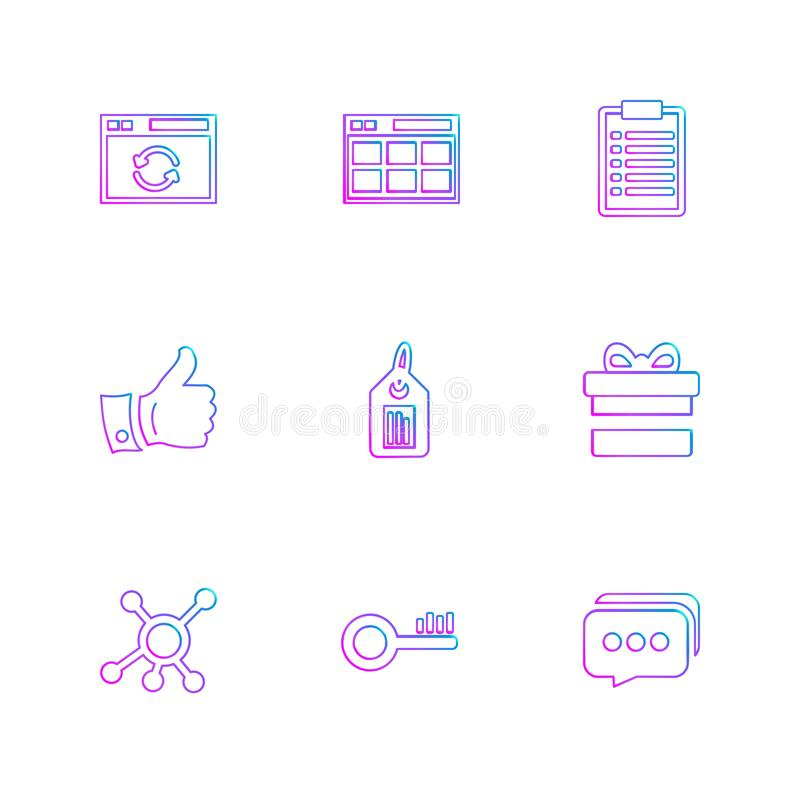 Seo , money , internet , bugs , network , eps icons set vector. Seo , money , internet , bugs , network , sheild, lock , message , note , dollar , monitor royalty free illustration