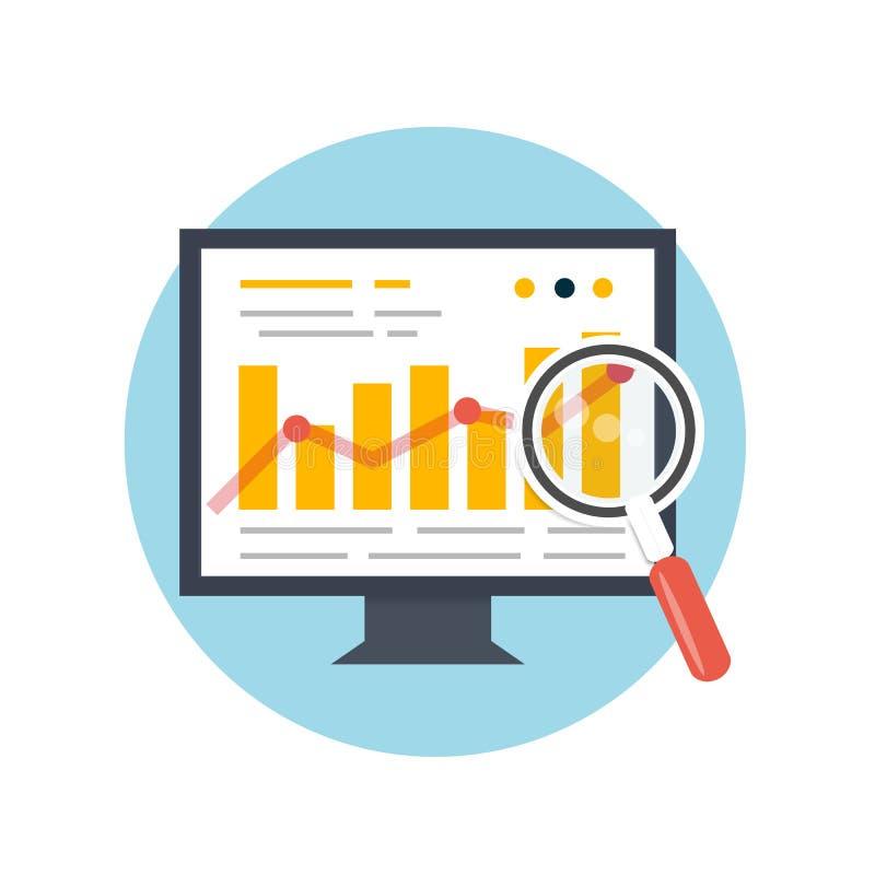 SEO-optimalisering, programmeringsproces stock illustratie