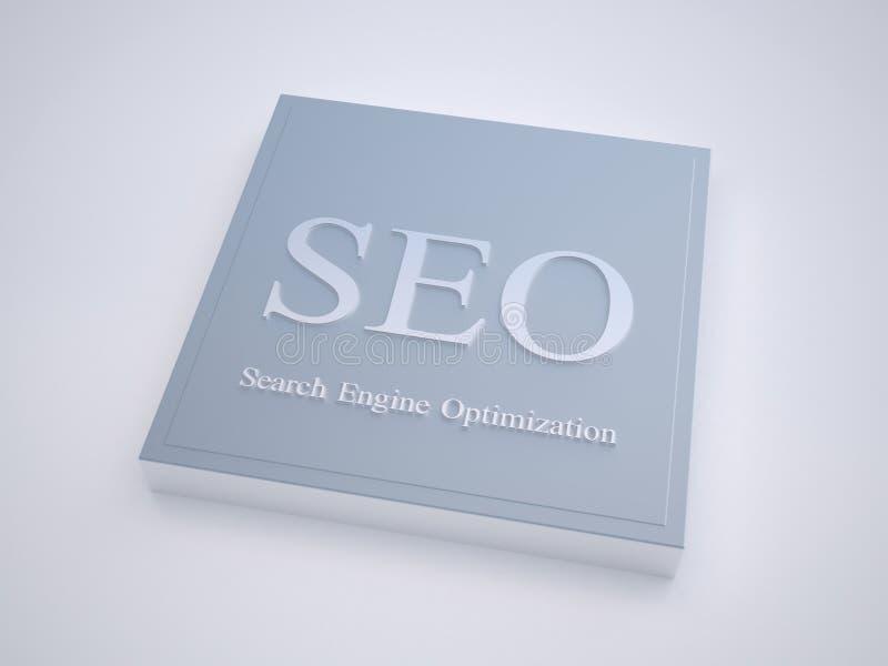 SEO - Optimisation d'engine de Searc illustration stock
