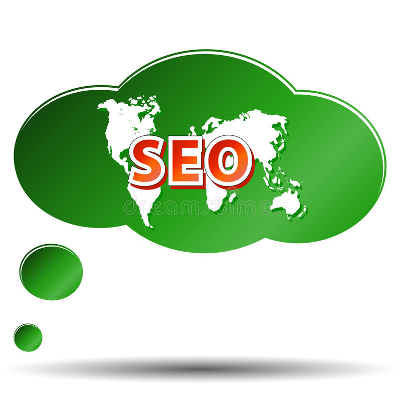 SEO - Optimisation de Search Engine illustration libre de droits