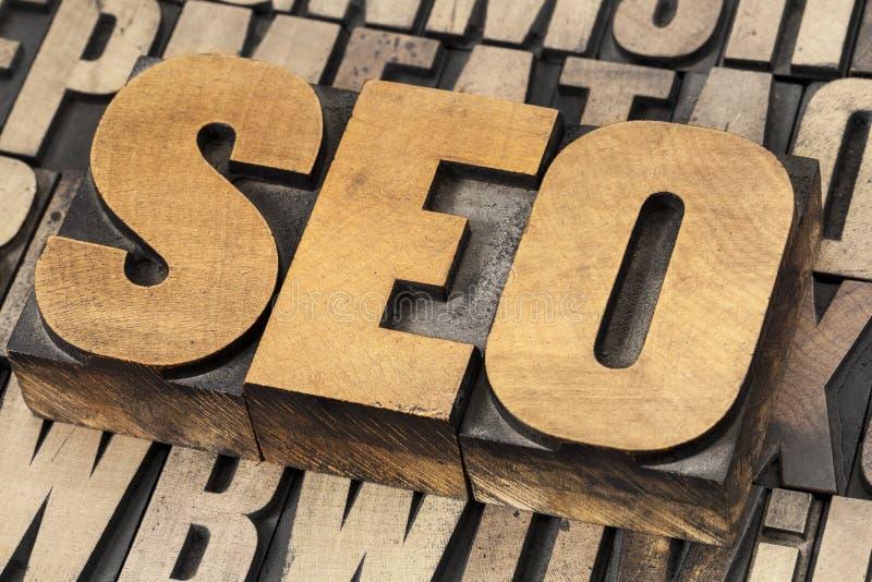 SEO - optimización del Search Engine fotografía de archivo