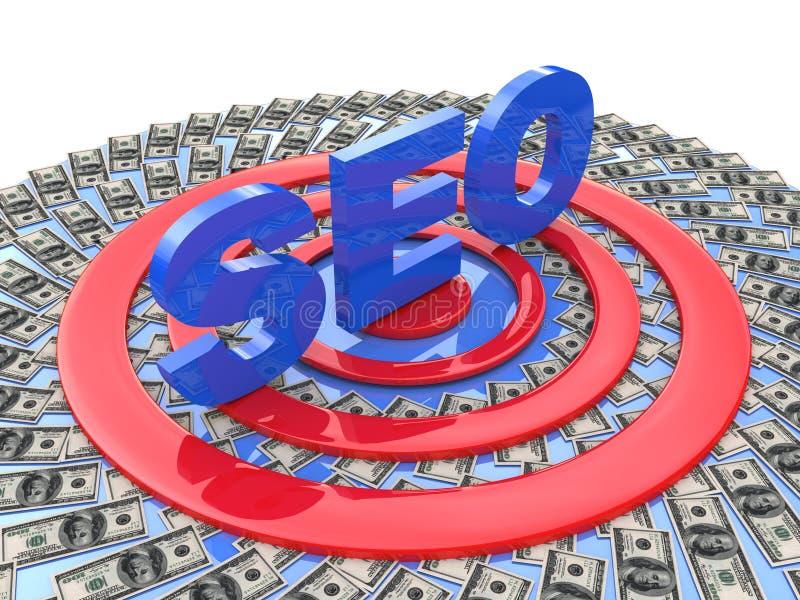 Seo promotion stock image