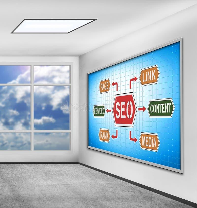 Download Seo scheme stock image. Image of internet, content, creativity - 83702939