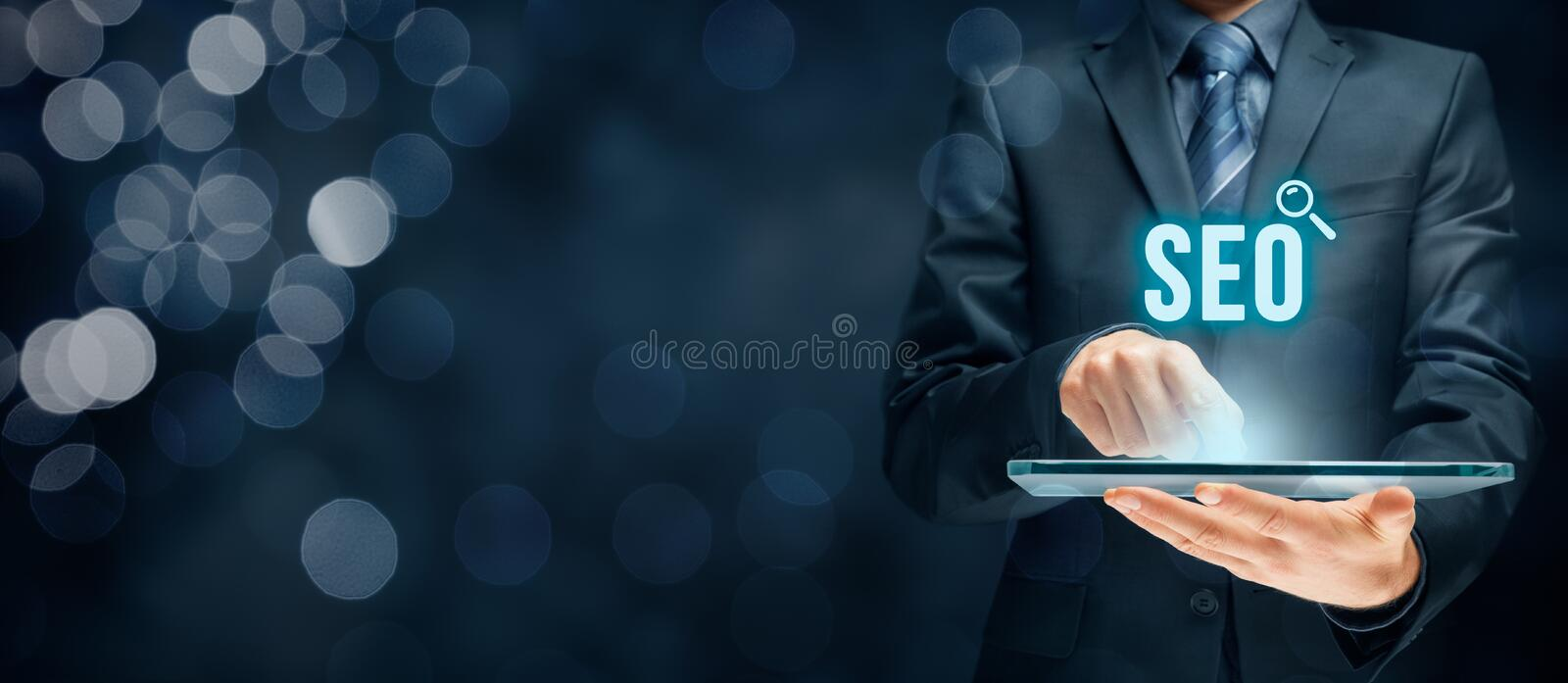 SEO search engine optimization stock images