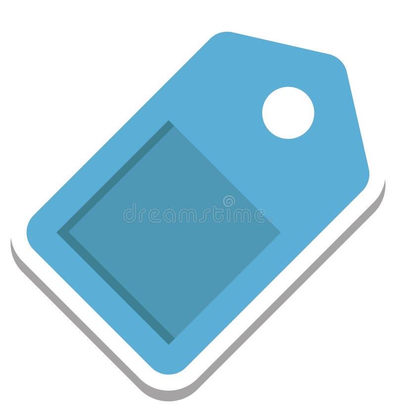 Seo Tag, Seo Keyword Vector Icon illustrazione vettoriale