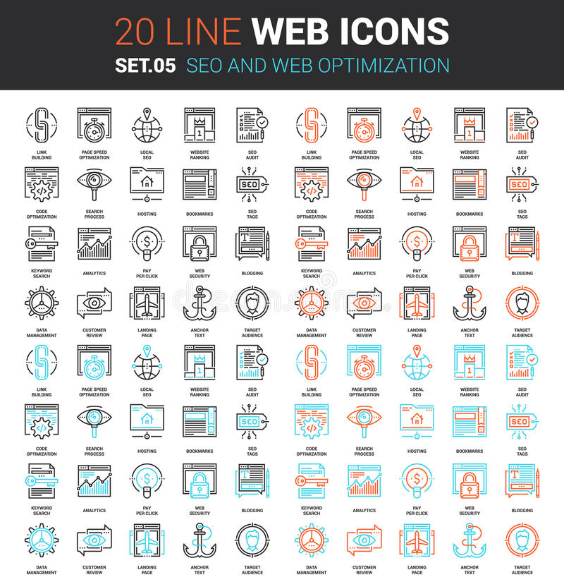 SEO y optimización del web libre illustration