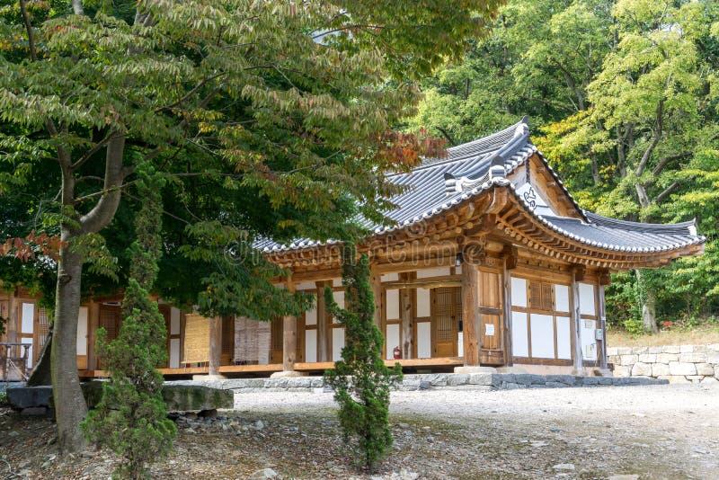 Seonunsa寺庙 免版税库存照片