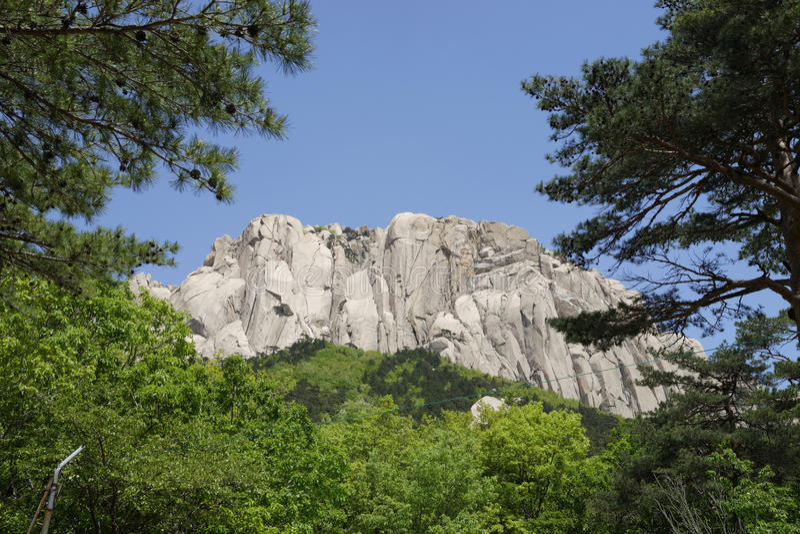 Seoraksan National Park, South Korea stock photo