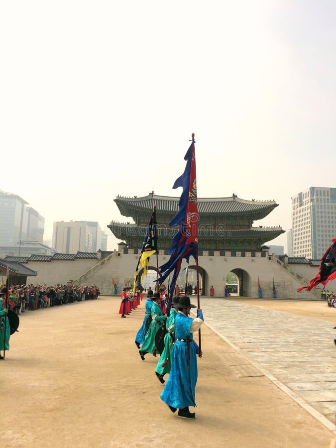 Seoul royaltyfria bilder