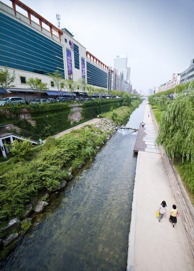 Seoul - Artificial River Editorial Image
