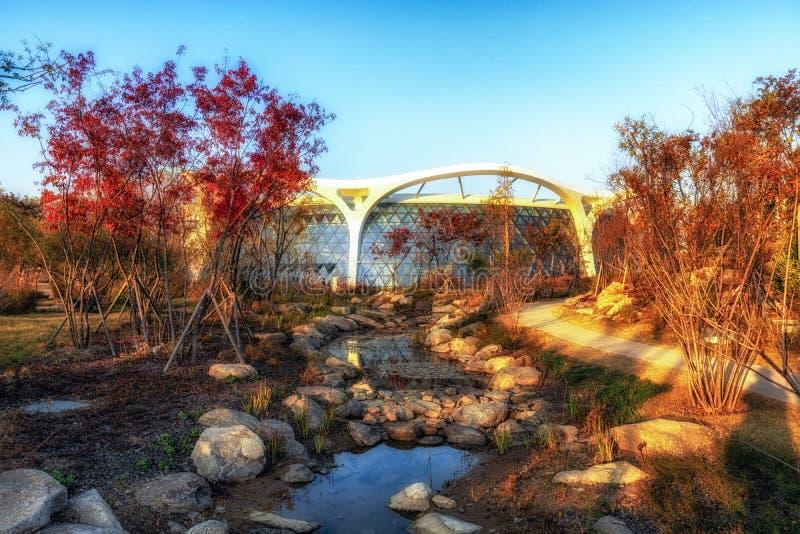 Seoul botanic park green house royalty free stock photography