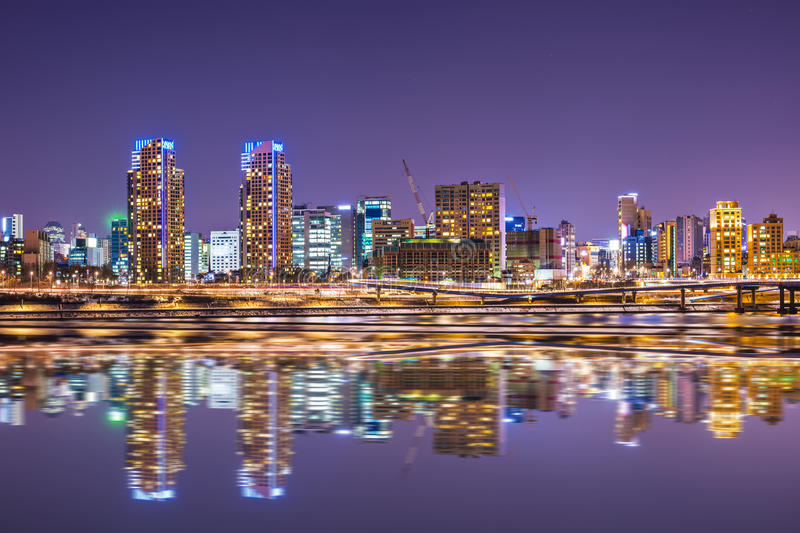 Download Seoul Cityscape stock image. Image of downtown, korea - 36646157
