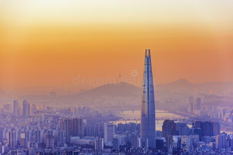 Seoul-Hauptstadt lizenzfreie stockfotografie