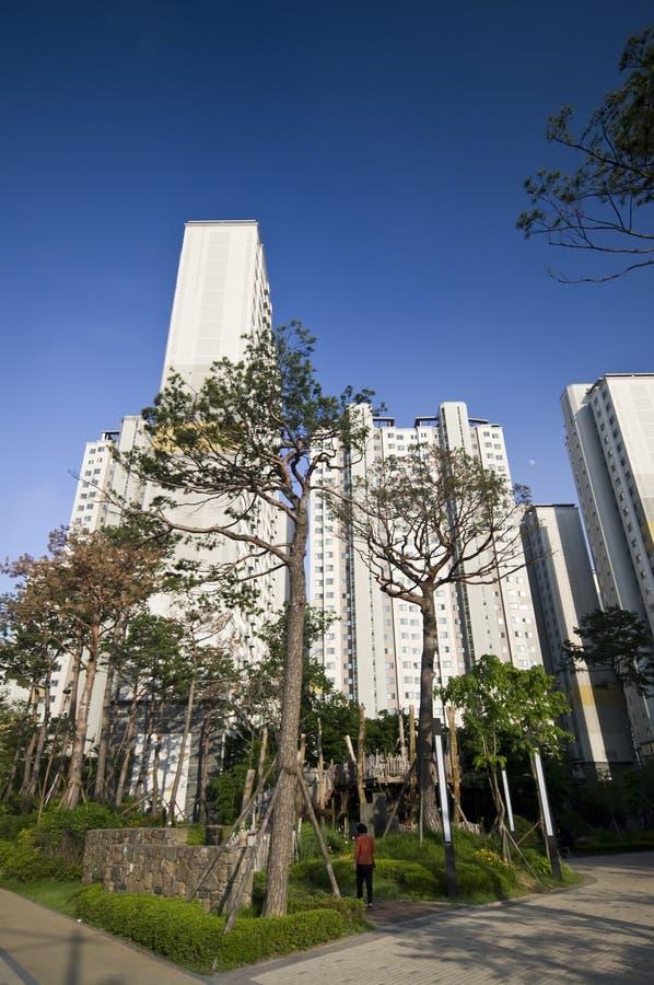Download Seoul houses stock photo. Image of residence, blocks - 15280036