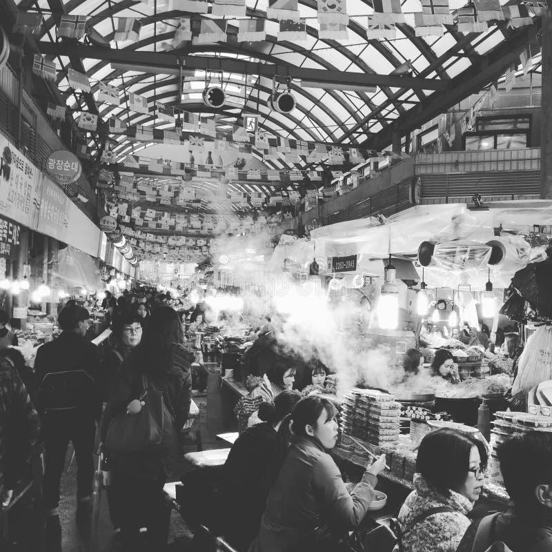 Seoul, Korea - GwangJang-Markt lizenzfreie stockfotos