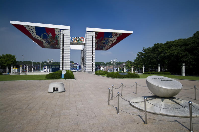 Download Seoul Olympic Park editorial stock photo. Image of sport - 14837928
