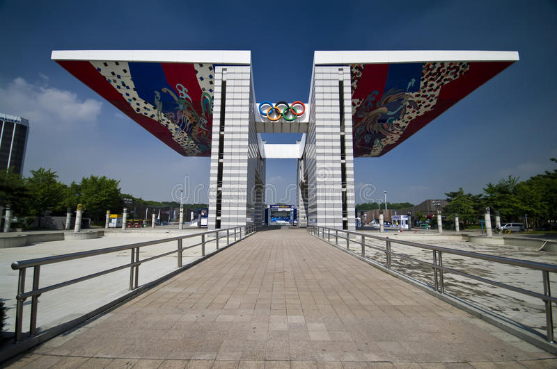 Download Seoul Olympic Park editorial stock image. Image of park - 14837974