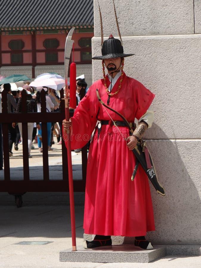 Seoul, Royal Palace immagini stock libere da diritti