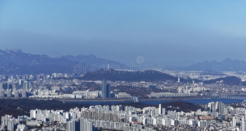 Seoul, South Korea HD stock photography