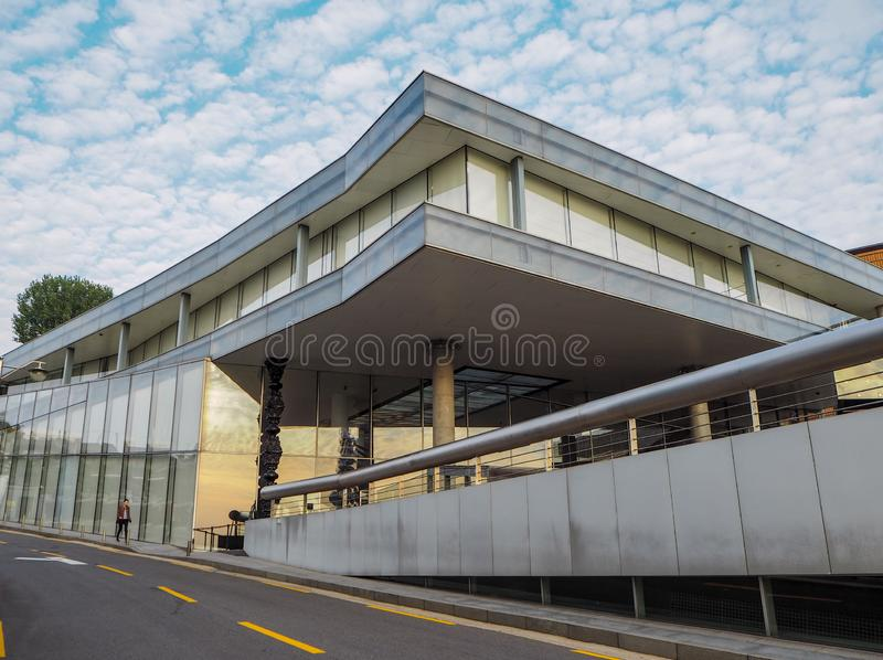 Seoul, South Korea - October 2018:: The Leeum Samsung museum of royalty free stock images