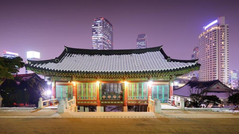 Seoul-Tempel lizenzfreie stockfotografie