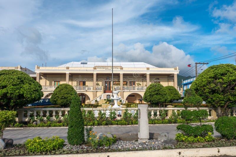 21.2017 SEP στο μέτωπο Batanes επαρχιακό Capitol, Batanes στοκ φωτογραφία με δικαίωμα ελεύθερης χρήσης