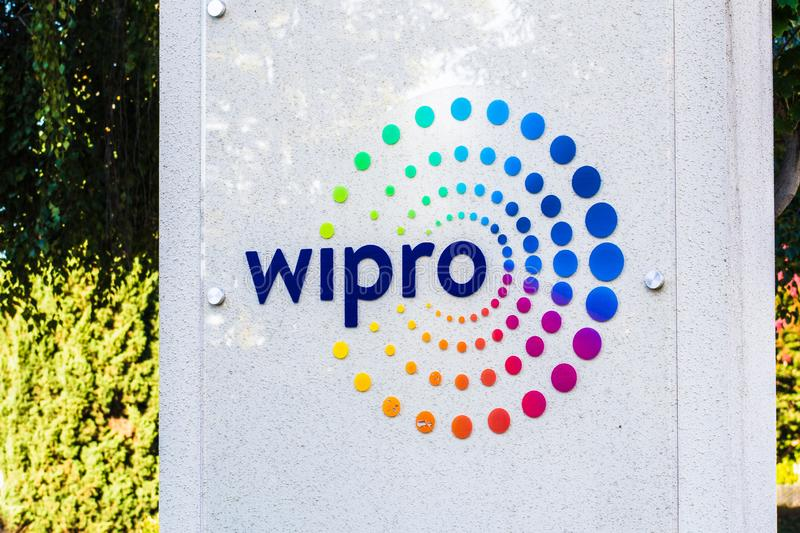 Sep 14, 2019 Mountain View / CA / USA - Wipro logo at their offices in Silicon Valley; WIPRO Ltd is an Indian multinational stock images