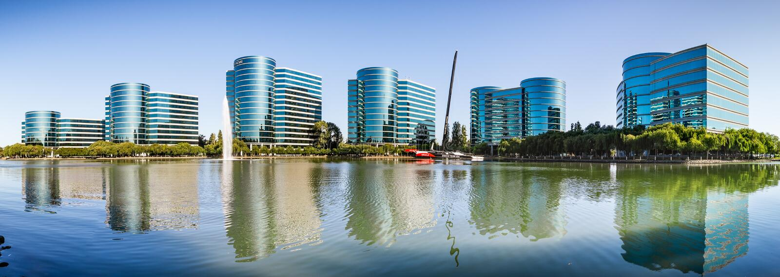 Sep 9, 2019 Redwood City / CA / USA -  Oracle corporate headquarters in Silicon Valley; Oracle Corporation is a multinational. Computer technology company royalty free stock photos