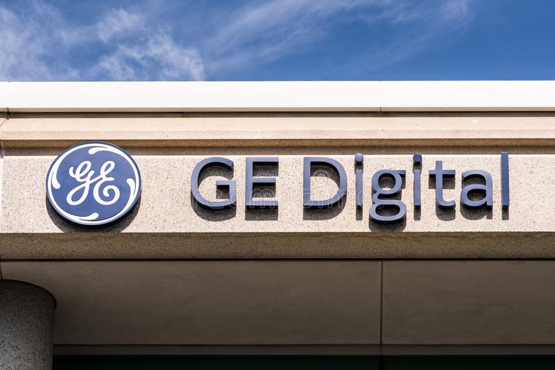 Sep 25, 2019 San Ramon / CA / USA -GE Digital sign at the headquarters in San Francisco Bay Area; GE Digital, subsidiary of. General Electric, provides software stock images