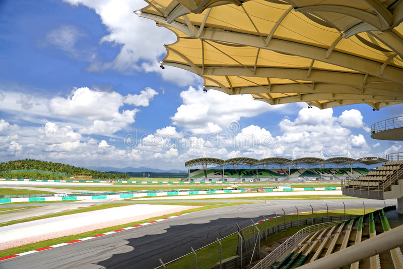 Sepang International Racing Circuit royalty free stock photo