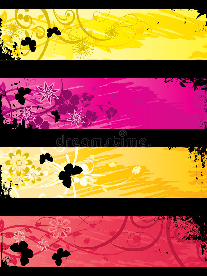 Download Separated Banners Stock Photo - Image: 6067720