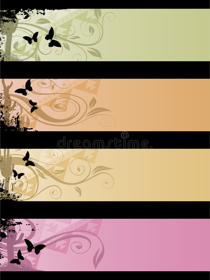 Free Separated Banners Royalty Free Stock Images - 6095209