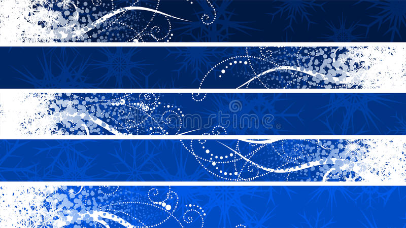 Download Separated christmas banner stock vector. Image of setback - 11473275