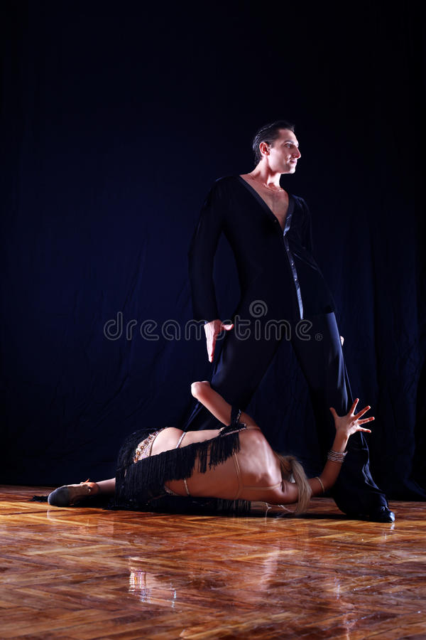Download Separation - Dancers In Ballroom Royalty Free Stock Photography - Image: 23360637