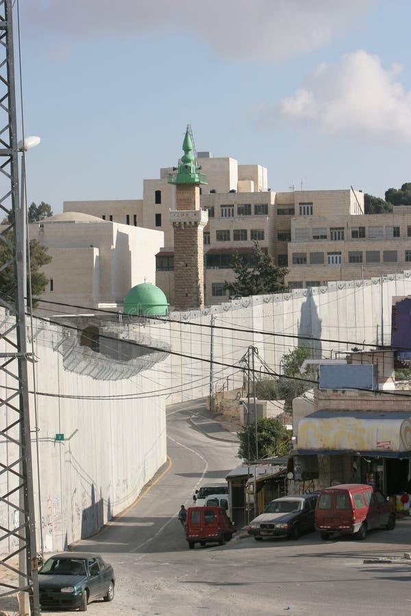 Separation Wall Jerusalem royalty free stock image