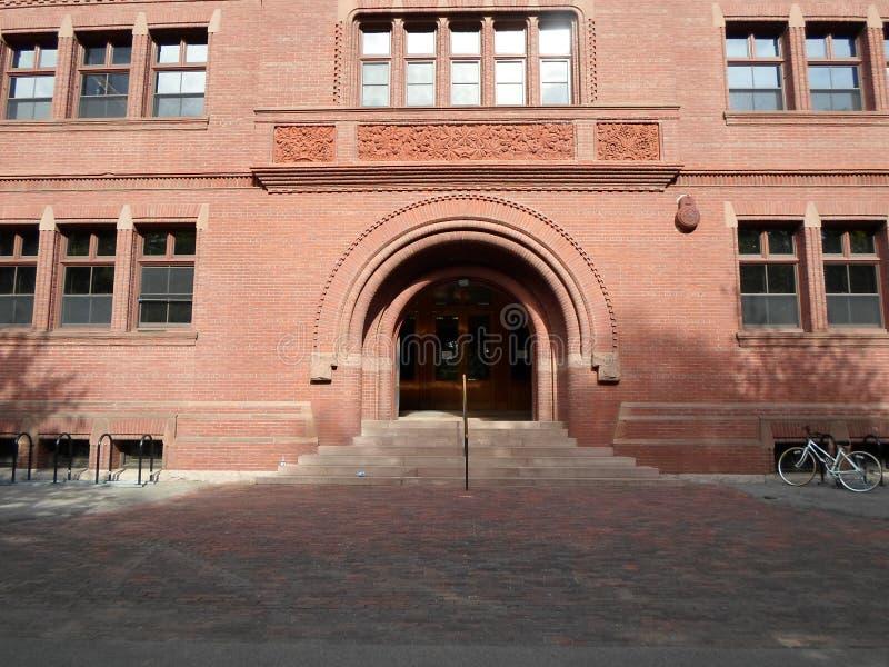 Separe Pasillo, yarda de Harvard, Universidad de Harvard, Cambridge, Massachusetts, los E.E.U.U. imágenes de archivo libres de regalías