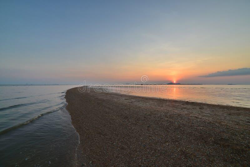 Separeted海在Satun,泰国 图库摄影
