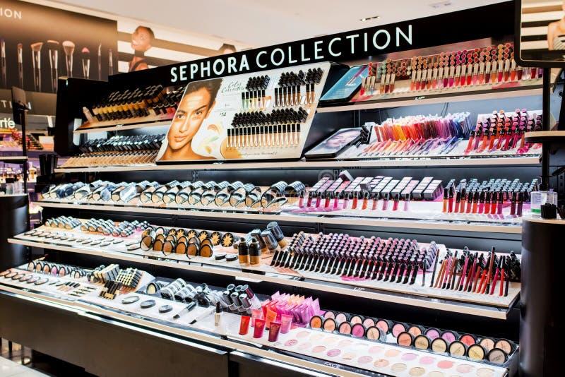 Sephora-Speicher stockfoto