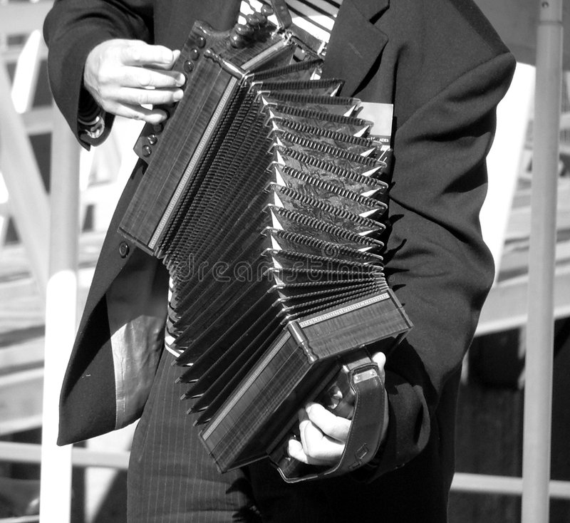 Download Sepia Accordian Player stock image. Image of stripes, miscellaneous - 247667