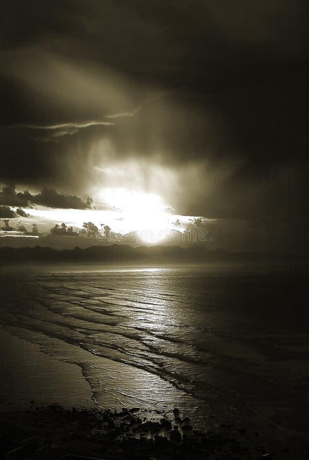 Sepia Dawn stock fotografie