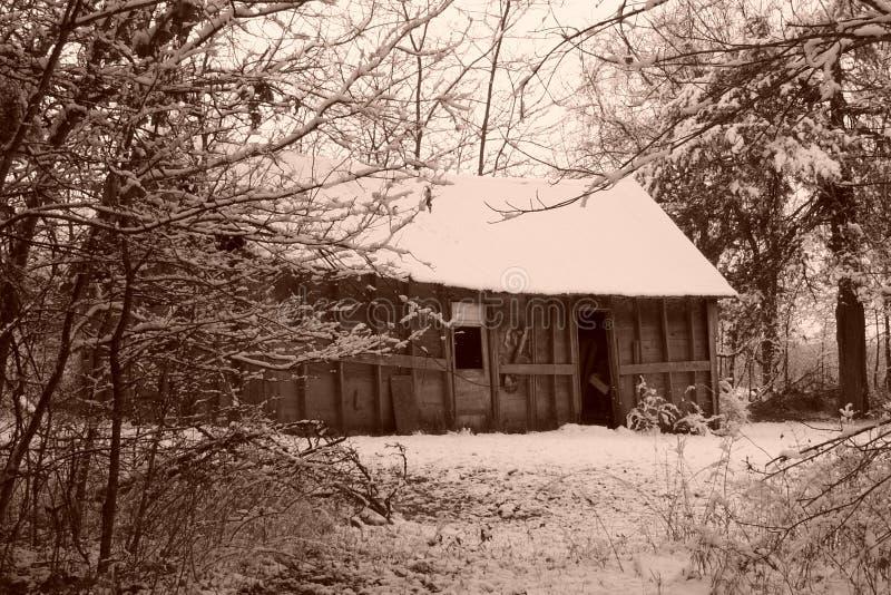 Sepia Old House stock photos