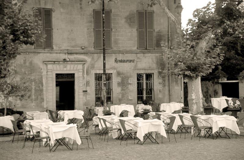 Sepia Restaurant stock fotografie