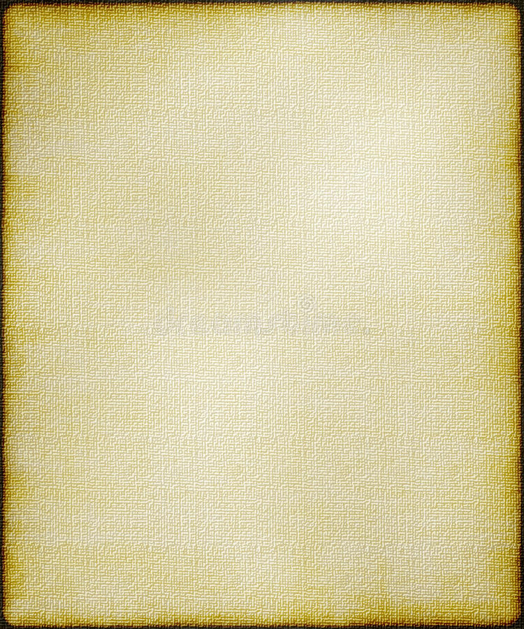 Sepia textured canvas background royalty free stock images